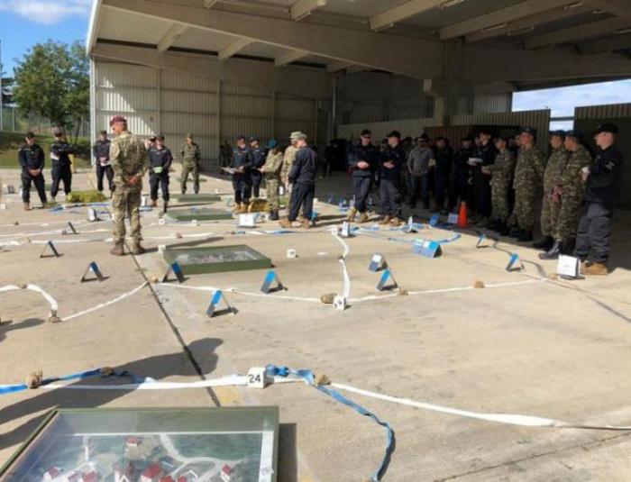 Azerbaijani servicemen participate in int