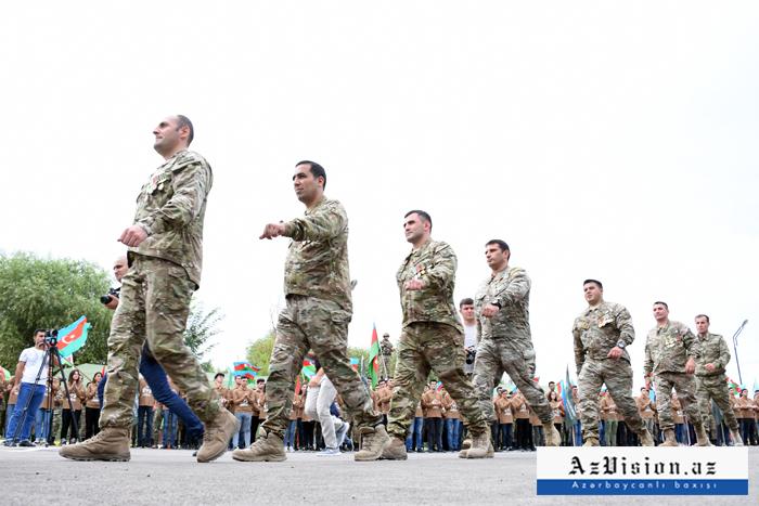 قدامى المحاربين في كاراباخ - تعرفوا عليهم أيضا! -  صور