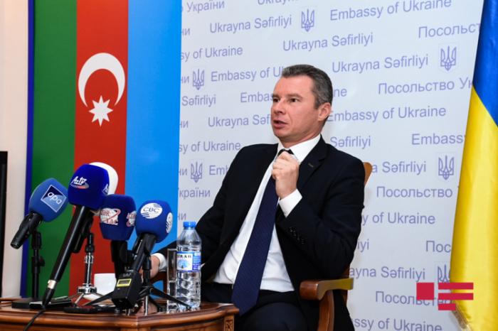 """Ukrainischer Botschafter:   """"Berg-Karabach-Konflikt sollte innerhalb der territorialen Integrität Aserbaidschans gelöst werden"""""""