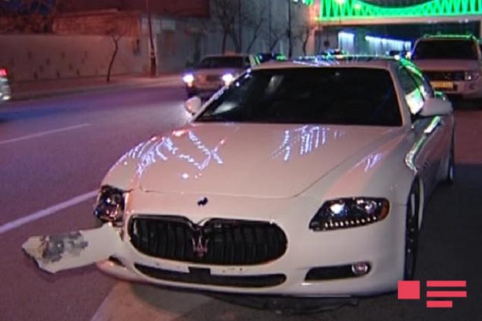 """Bakıda """"Maserati"""" 25 yaşlı qızı vurub öldürdü"""