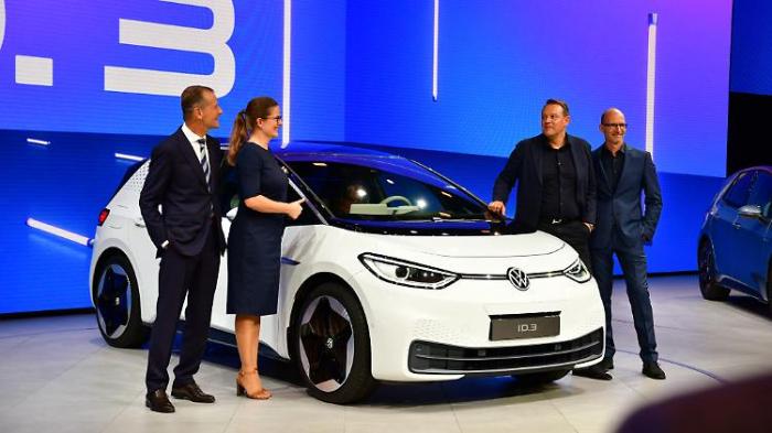 Weltpremiere für den VW ID.3
