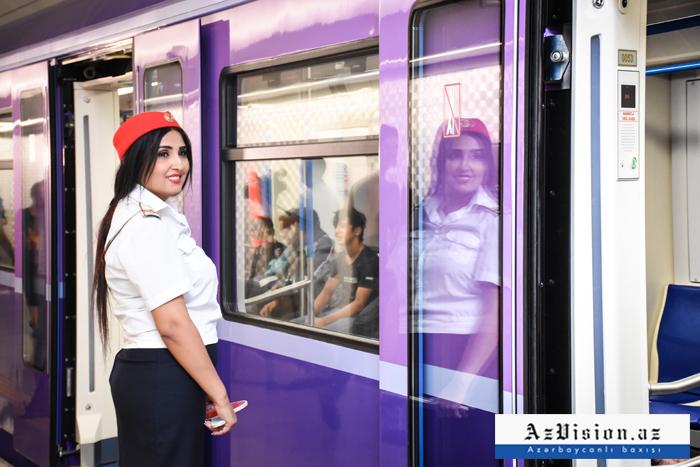 """""""Xətai"""" stansiyası təmirdən sonra - FOTOREPORTAJ"""