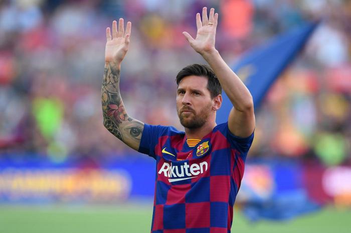 Lionel Messi remporte le prix de meilleur joueur FIFA