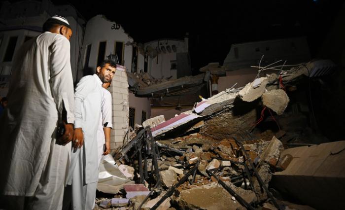 Nouvelle secousse au Pakistan, réplique du séisme de mardi