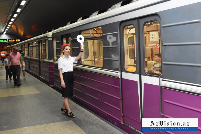 Baku metro's