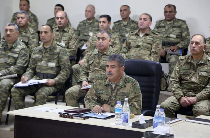 Ordumuzun genişmiqyaslı təlimləri davam edir - VİDEO