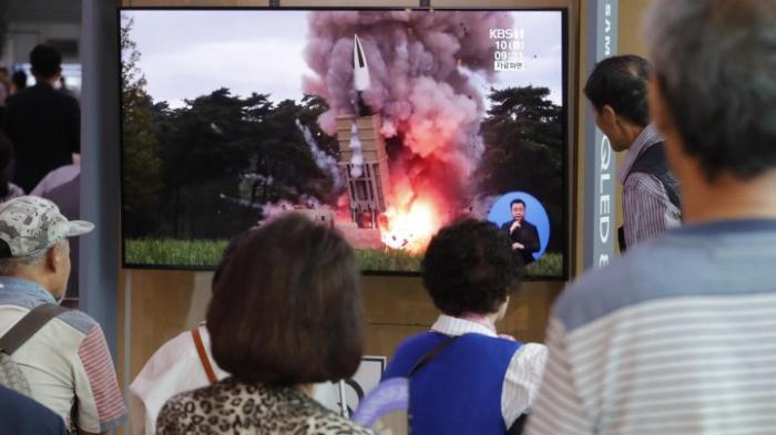 Offenbar neue Raketentests