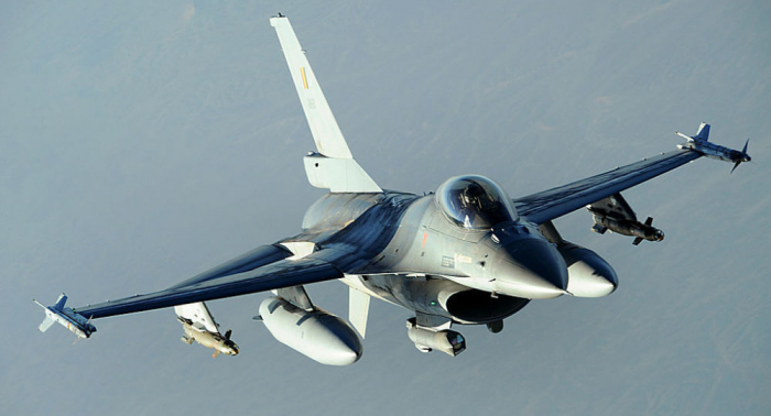 Belgian F-16 crashes in Morbihan, France