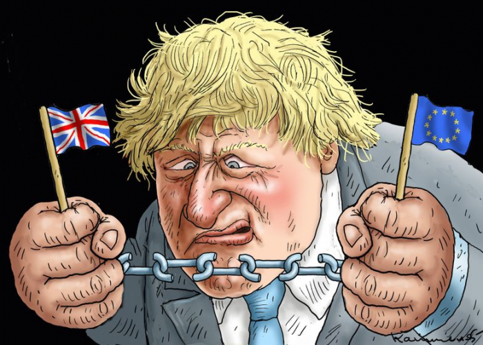 Boris has a problem -  CARTOON