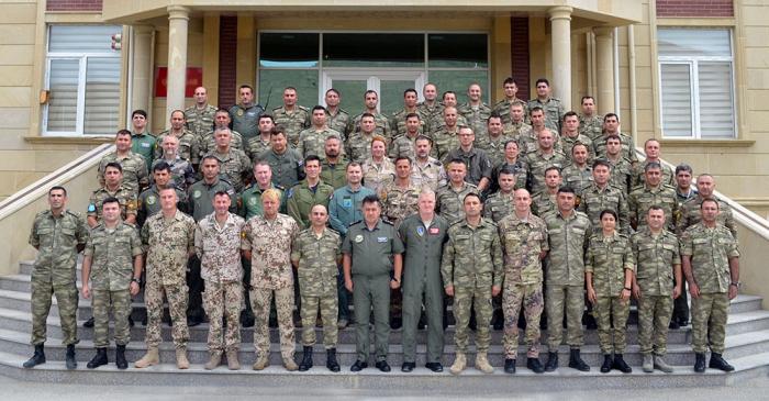 Bakıda NATO qiymətləndirilməsi təlimi keçirilib - VİDEO+FOTOLAR