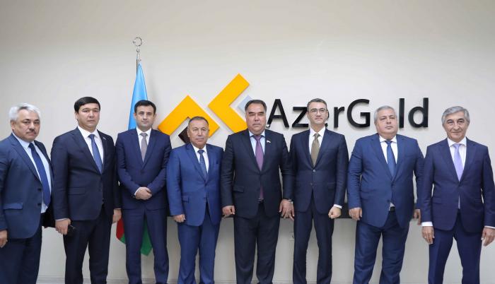 """Tacikistan """"AzerGold""""la əməkdaşlıqda maraqlıdır"""