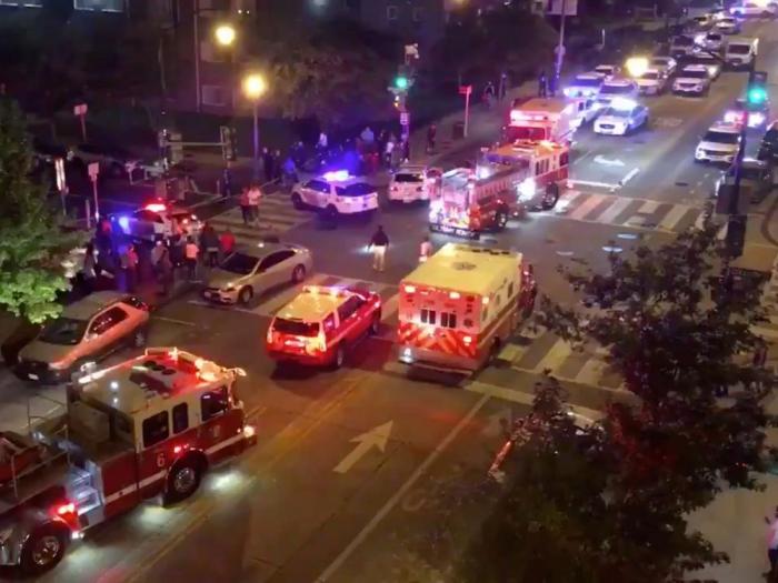 Fusillade à Washington:  un mort et cinq blessés