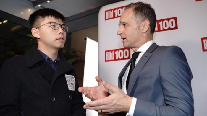 China beschwert sich über Treffen von Maas und Wong
