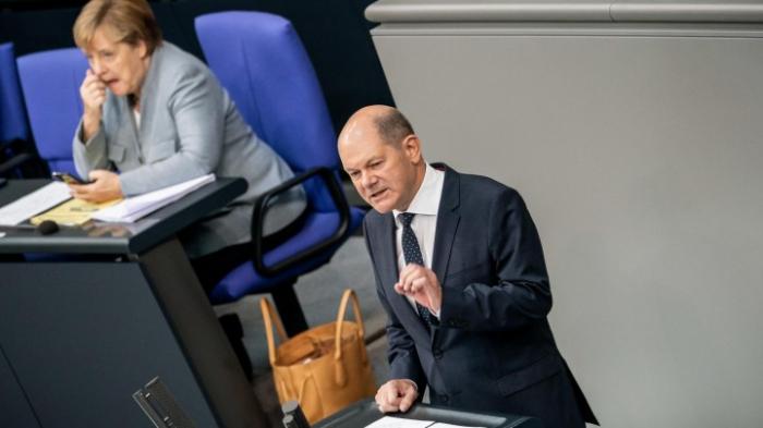 Scholz verteidigt Haushaltsentwurf