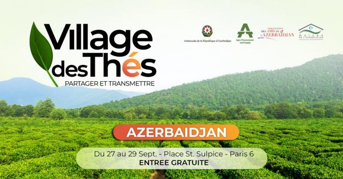 Azərbaycan Parisdə Çay festivalında iştirak edəcək