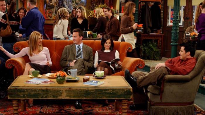 Le canapé de «Friends» sera installé à Paris pour les 25 ans de la série