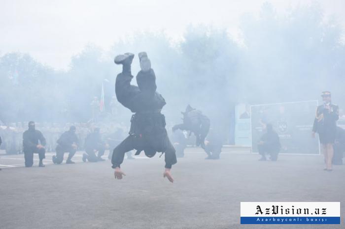Azərbaycan kəşfiyyatçılarından nümunəvi çıxış - FOTOSESSİYA