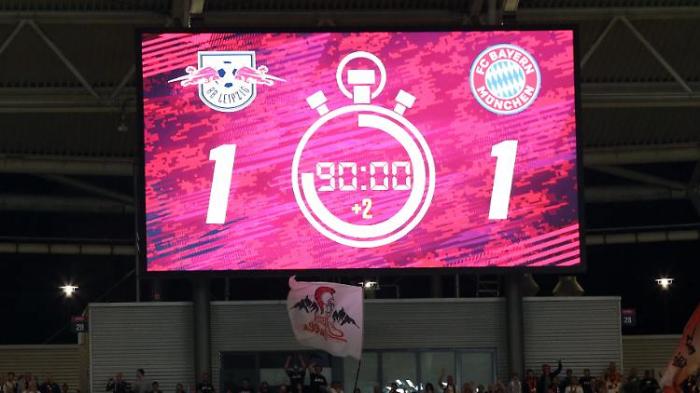 FC Bayern spielt Spitze, aber RB ist Spitze