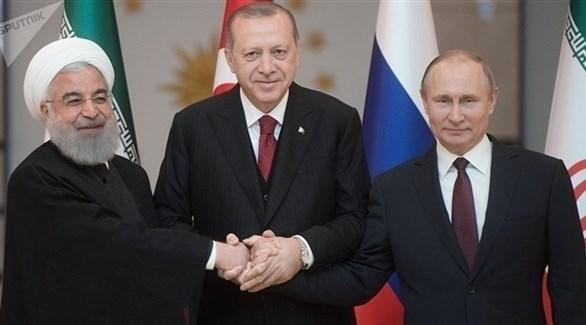 أردوغان يستضيف بوتين وروحاني في قمة حول إدلب