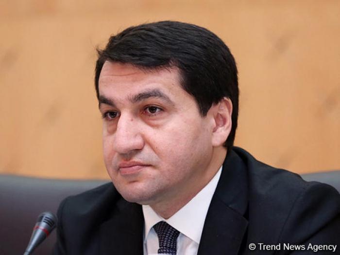 """حكمت حاجييف:  """"أذربيجان معروفة كشريك موثوق في سوق الطاقة الدولي"""""""