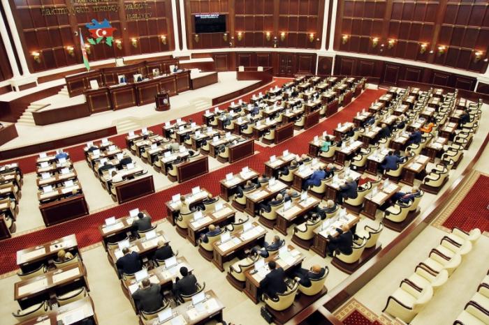 Parlamentin payız sessiyasının işlər planı - SİYAHI