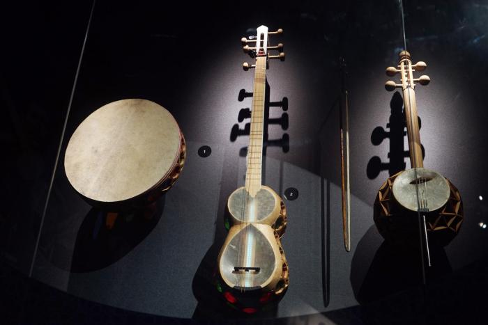 Exhibition of rare musical instruments opens at Heydar Aliyev Center -  PHOTOS