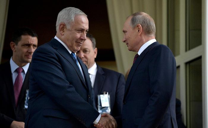 Putin İsrailə səfər təklifini qəbul etdi