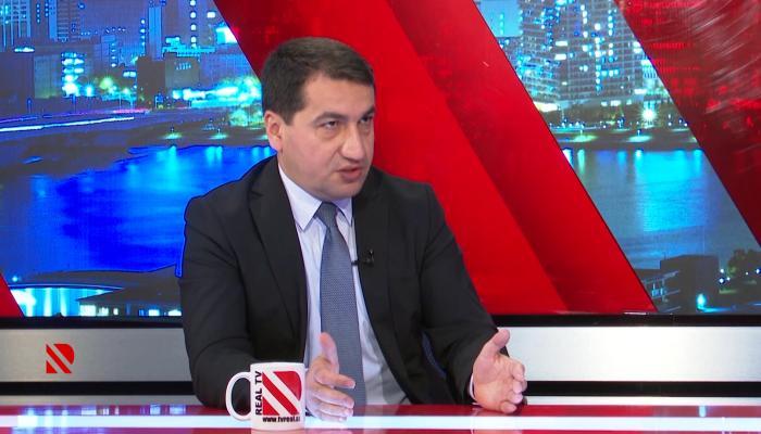 Hikmət Hacıyev Paşinyanın qeyri-ciddiliyini sübut etdi - VİDEO
