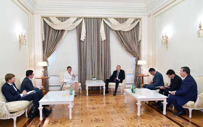 President Ilham Aliyev received delegation led by PACE President