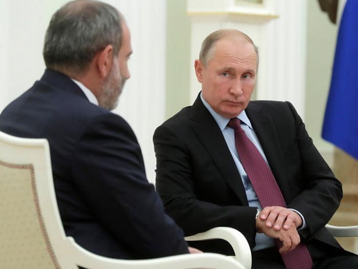 Putin Paşinyanın görüş təklifini rədd etdi