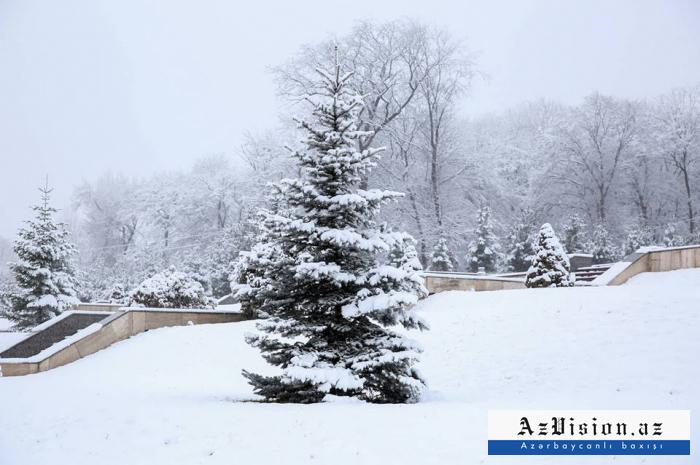 Dağlıq ərazilərə qar yağıb - Faktiki hava