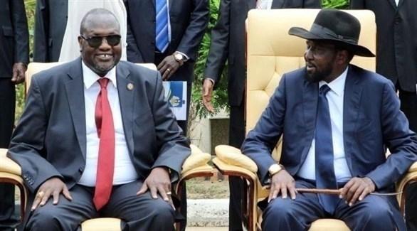 مشار يلتقي كير في جوبا في مسعى لإنقاذ اتفاق السلام