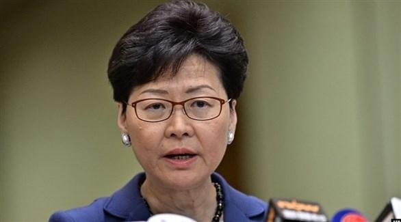 زعيمة هونغ كونغ: تصعيد العنف لن يحل المشاكل الاجتماعية