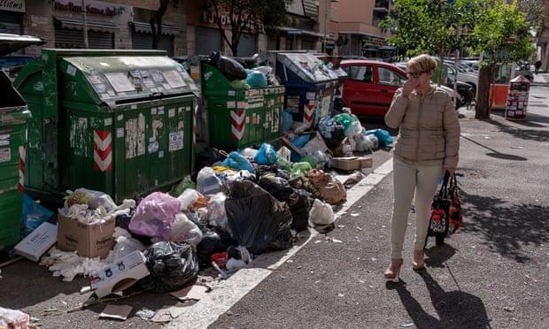 Rubbish crisis triples demand for rat control services in Rome