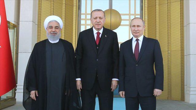 Ankarada prezidentlərin görüşü keçirilib - FOTO