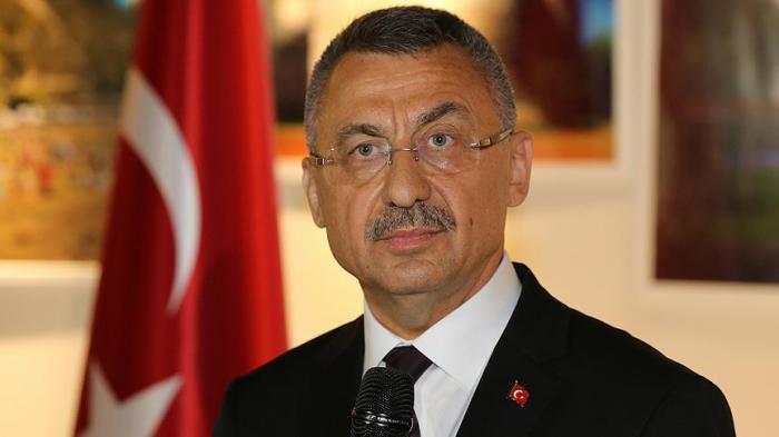 Fuat Oktayın Azərbaycana səfəri başa çatıb