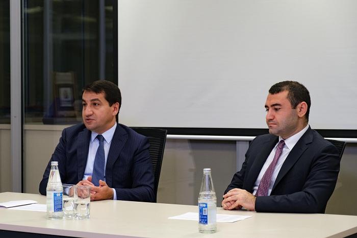 """رئيس قسم الإدارة الرئاسية:  """"أذربيجان لا تتدخل في الشؤون الداخلية لأي بلد"""