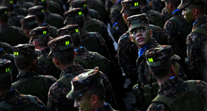 بعد الاتفاق مع أمريكا... نشر مئات من أفراد الشرطة على حدود السلفادور