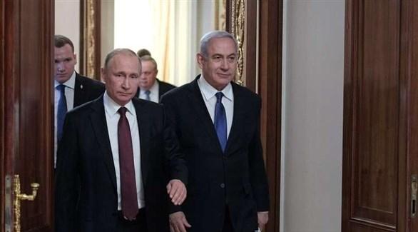 نتانياهو يبحث مع بوتين الوضع في سوريا