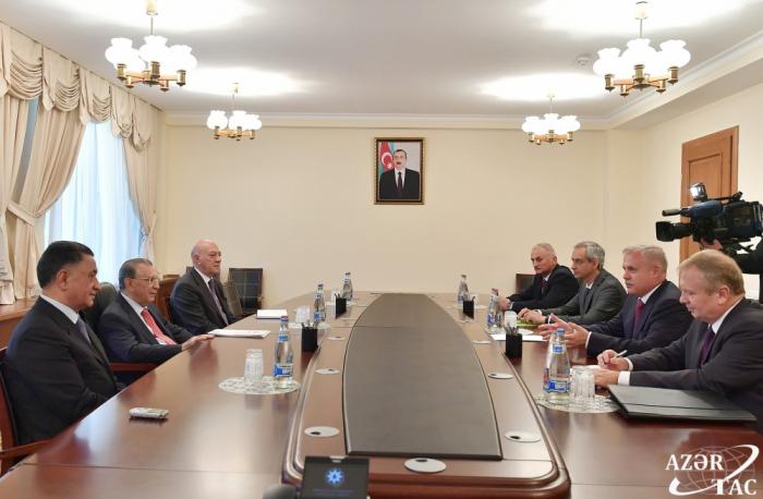 Ramiz Mehdiyev a reçu lesecrétaire d'Etat du Conseil de sécurité biélorusse