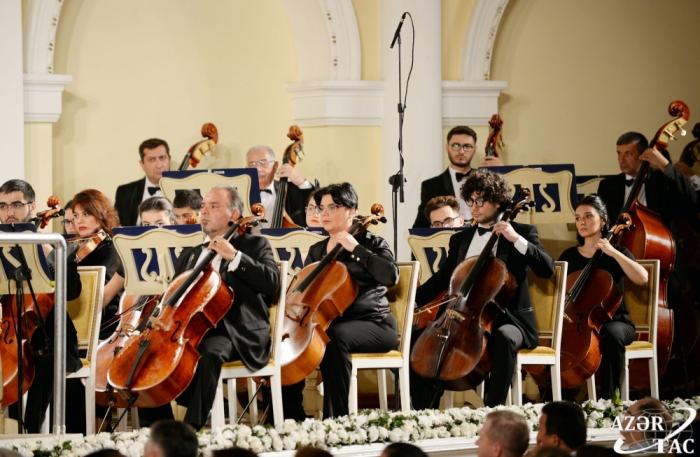 Ouverture de la 11e édition du Festival international de musique Uzeyir Hadjibeyli