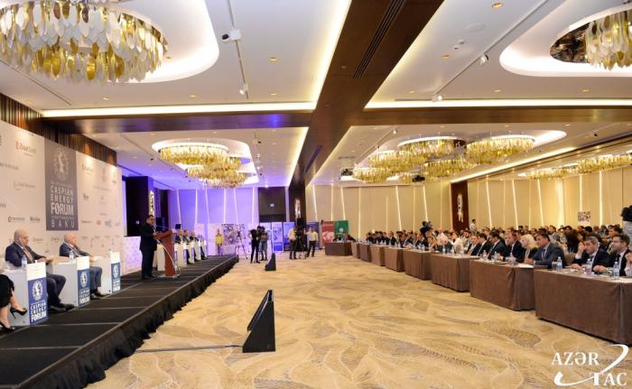 IX Foro Internacional de Energía del Caspio arrancó en Bakú