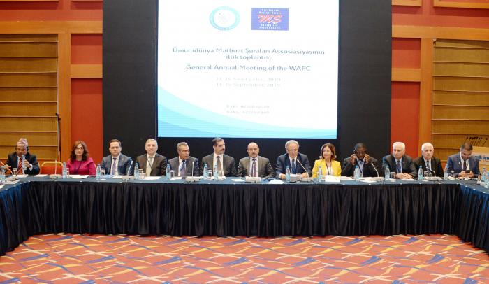 Annual meeting of World Association of Press Councils starts in Baku