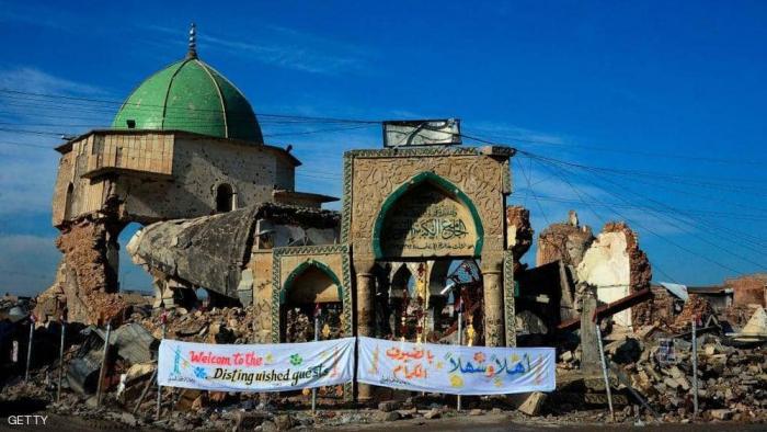 الإعلان عن موعد إعادة إعمار مسجد تاريخي دمره داعش بالموصل