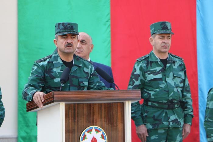 DSX-nin yeni hərbi hissə kompleksi istifadəyə verildi — FOTOLAR