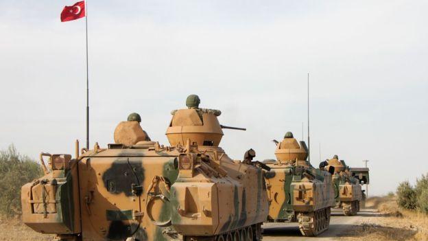 العملية العسكرية التركية في سوريا: أردوغان يرفض وقف إطلاق النار برغم العقوبات الأمريكية