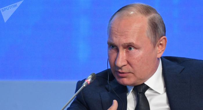 بوتين: يجب تحرير سوريا من الوجود العسكري الأجنبي وهذا ينطبق على جميع الدول