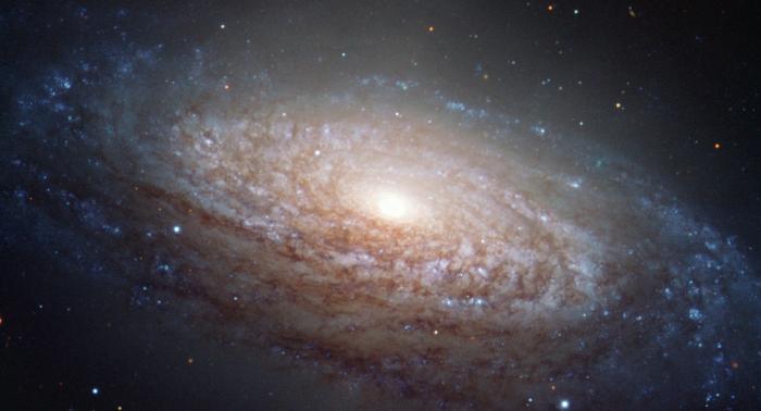 La NASA publie une rare image d'une galaxie en forme d'ovni