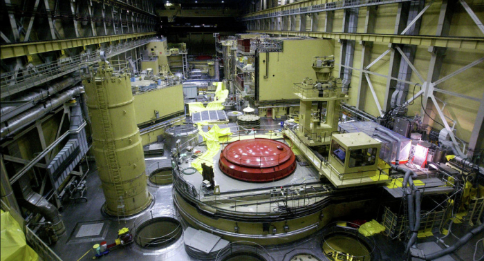 Hungarian nuclear power plant shuts down one block