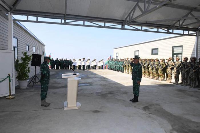 """""""Keşikçi qala"""" sərhəd zastavası kompleksi istifadəyə verildi - FOTOLAR"""
